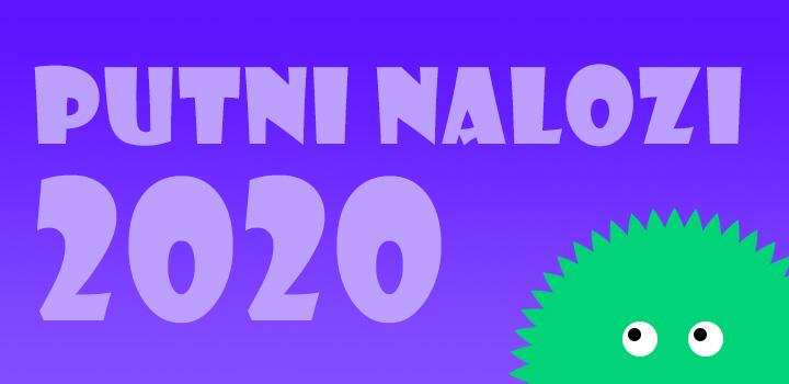 2020-a godina: putni nalozi 1